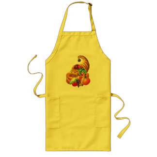 HARVEST Apron, Long Yellow Long Apron