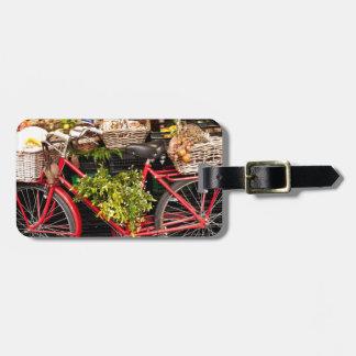 Harvest Bicycle Luggage Tag