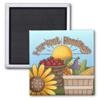 Harvest Blessings Kitchen Magnet