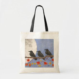 Harvest Crows Tote Bag