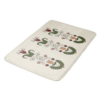 Harvest Dance Bath Mat