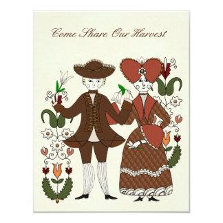 Harvest Dance Card