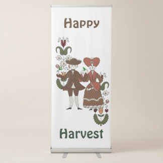 Harvest Dance Retractable Banner