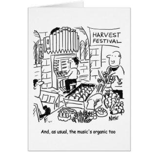 Harvest Festival Card