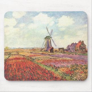 Harvest Fields - Monet Mouse Pad
