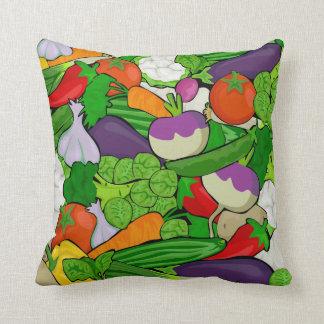 Harvest Harmony Throw Pillow