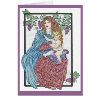 Harvest Madonna Card