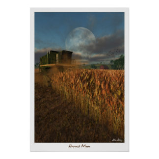 Harvest Moon Poster