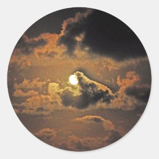 HARVEST MOON Round Sticker