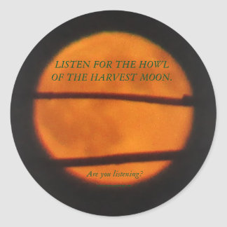 Harvest Moon Stickers - Prairie Mile Series