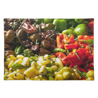 Harvest of Chilies Placemat