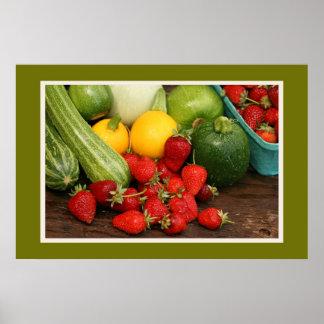 Harvest Summer Vegetables Print