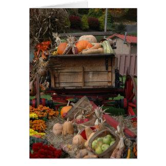 Harvest Thanksgiving Card