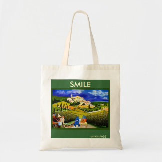 HARVEST THE GRAPES TOTE BAG