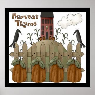 Harvest Thyme Print