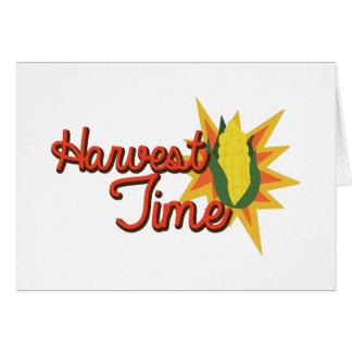 Harvest Time Corn Card