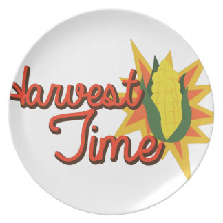 Harvest Time Corn Dinner Plate
