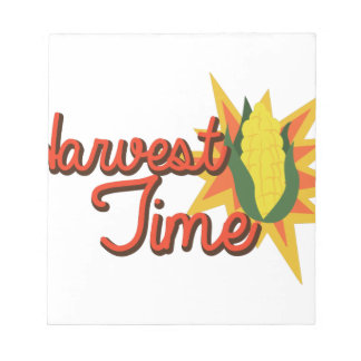 Harvest Time Corn Notepads