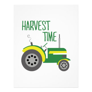 Harvest Time Personalized Letterhead