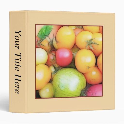 Harvest Time - Tomatoes! Binders
