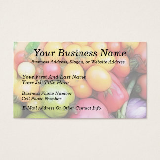 Harvest Time - Tomatoes! Business Card