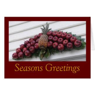 Harvest Wreath Card