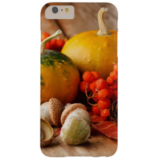 Harvested pumpkins with fall leaves 2 barely there iPhone 6 plus case