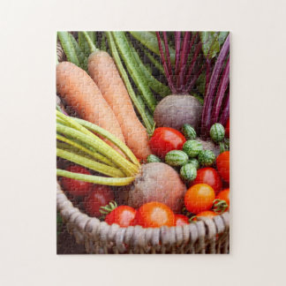 Harvested vegetables jigsaw puzzle
