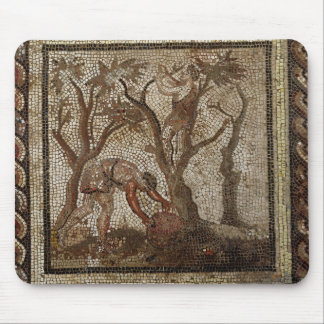 Harvesting Grapes, from Saint-Romain-en-Gal Mouse Pad