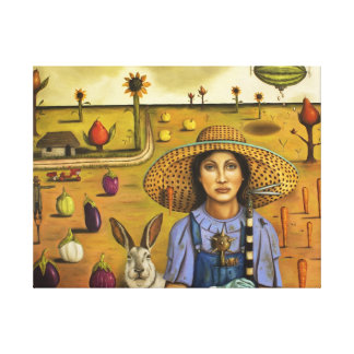 Harvey and the Eccentric Farmer Canvas Print