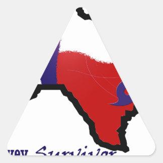 Harvey design 3 triangle sticker