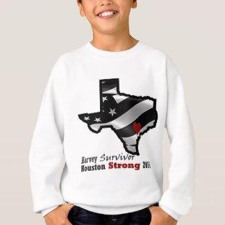 Harvey Design bk wht rd Sweatshirt