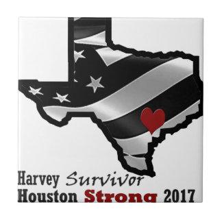 Harvey Design bk wht rd Tile
