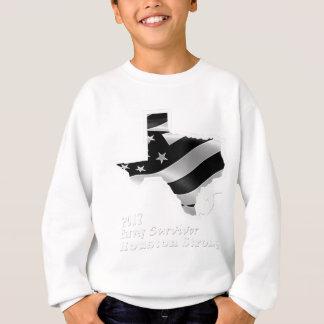 Harvey Design wht txt.gif Sweatshirt