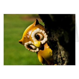 Harvey the Owl II Card