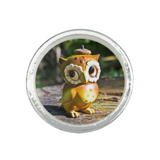 Harvey the Owl III Ring