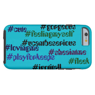 """Hash tag"" cell phone case"