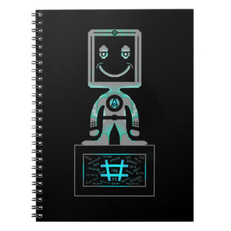 Hash Tag Super hero Notebook