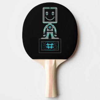 Hash Tag Super hero Ping Pong Paddle