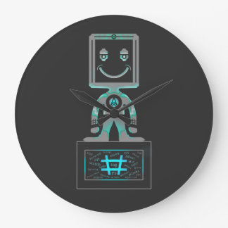 Hash Tag Super hero Wall Clocks