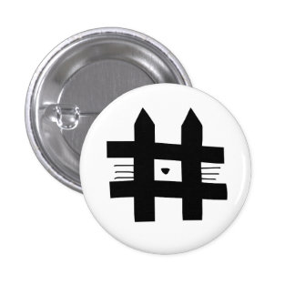 Hashcat 1 Inch Round Button
