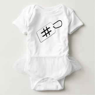 Hashtag Baby Bodysuit