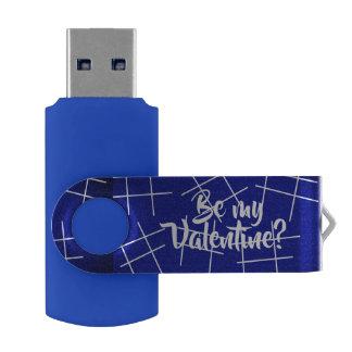 hashtag Be my Valentine? USB by DAL USB Flash Drive