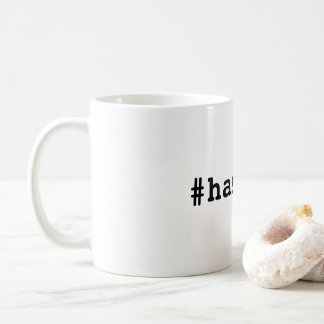 #hashtag coffee mug