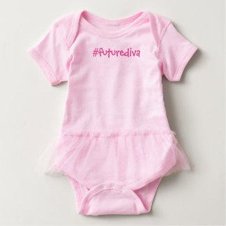 Hashtag future diva baby bodysuit