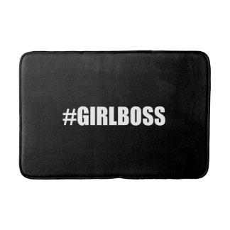 Hashtag Girl Boss Bathroom Mat