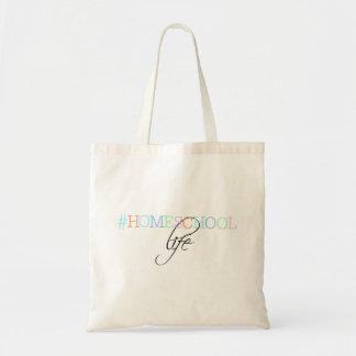 Hashtag Homeschool Life Tote Bag