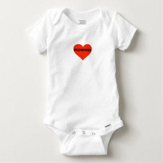 Hashtag I Love Hugs Cute Baby Infant Heart Baby Onesie