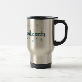 Hashtag Impeach the Groundhog Humorous Travel Mug