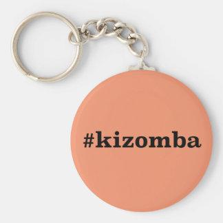 Hashtag Kizomba Basic Round Button Keychain